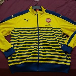 Puma Arsenal Premier League Soccer Track Jacket
